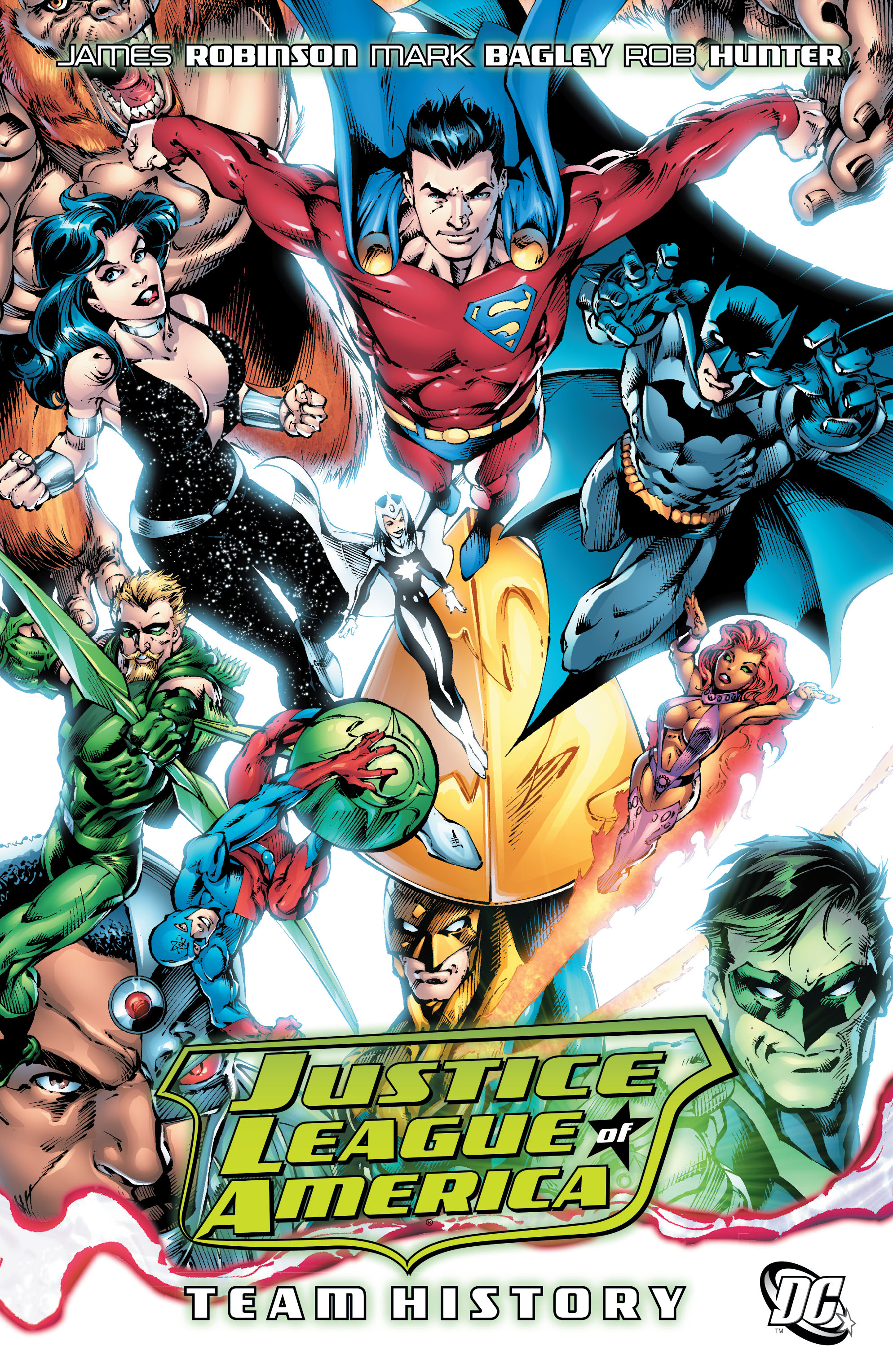 Justice League of America: Team History (Collected)