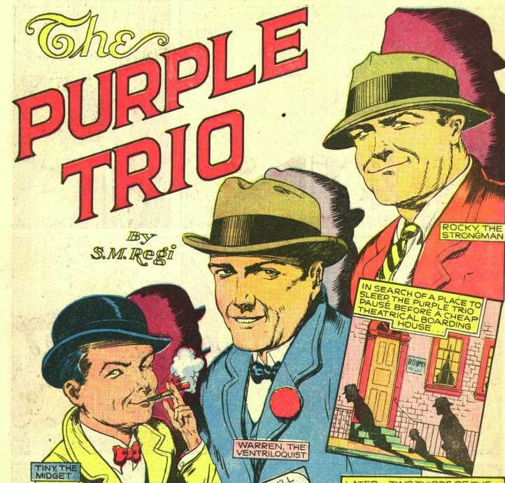 Purple Trio (Quality Universe)