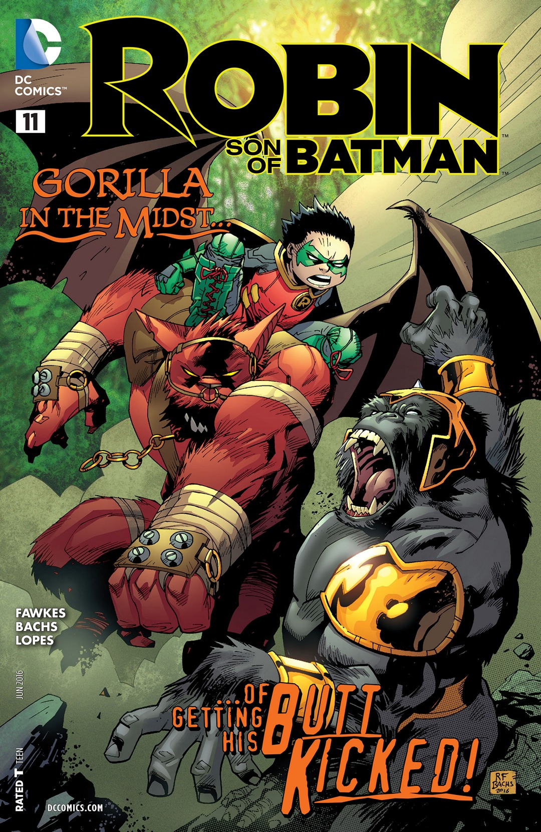 Robin: Son of Batman Vol 1 11