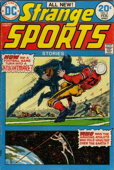 Strange Sports Stories Vol 1 3