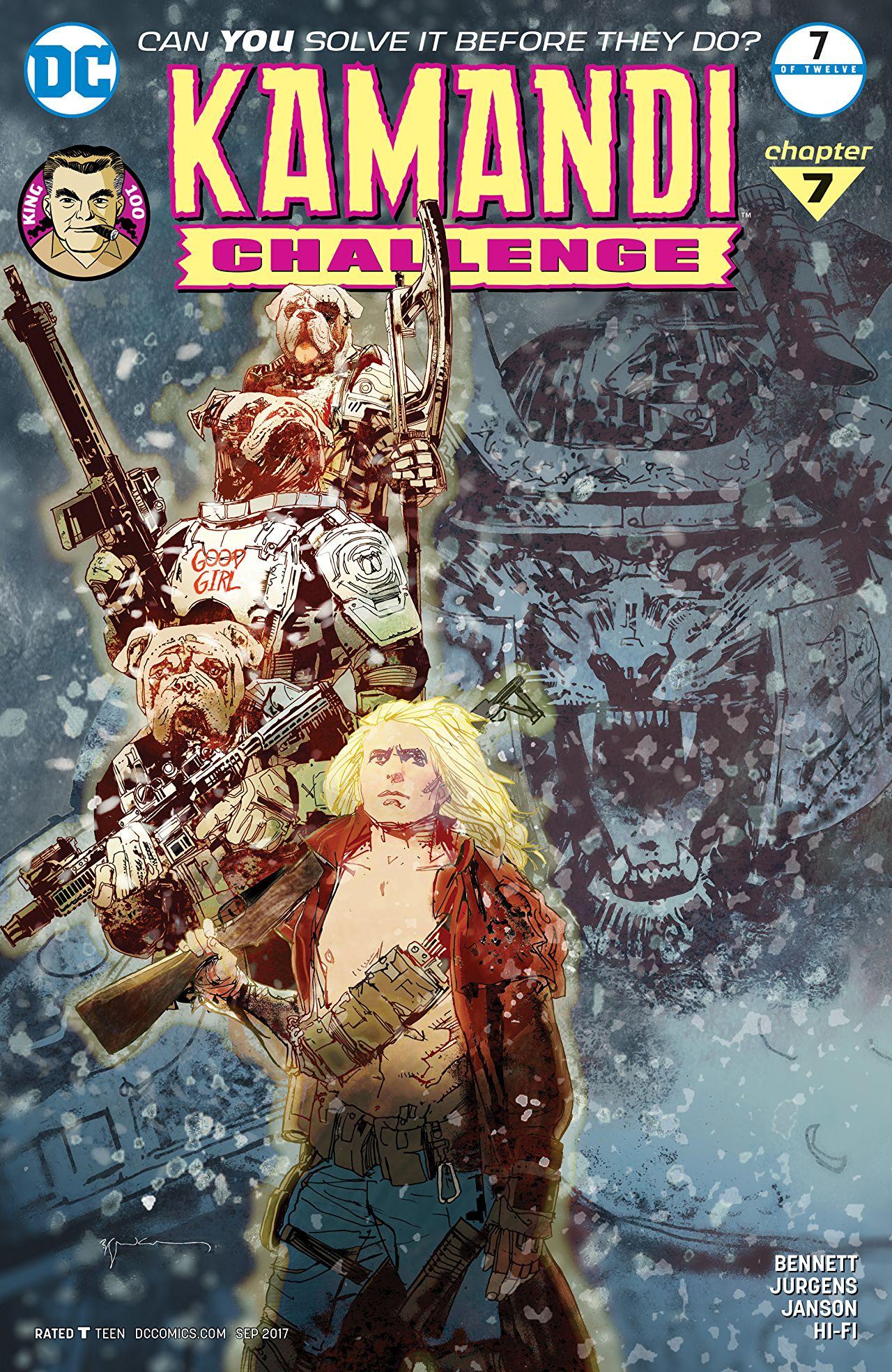 The Kamandi Challenge Vol 1 7