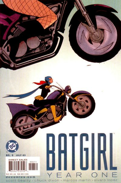 Batgirl: Year One Vol 1 6
