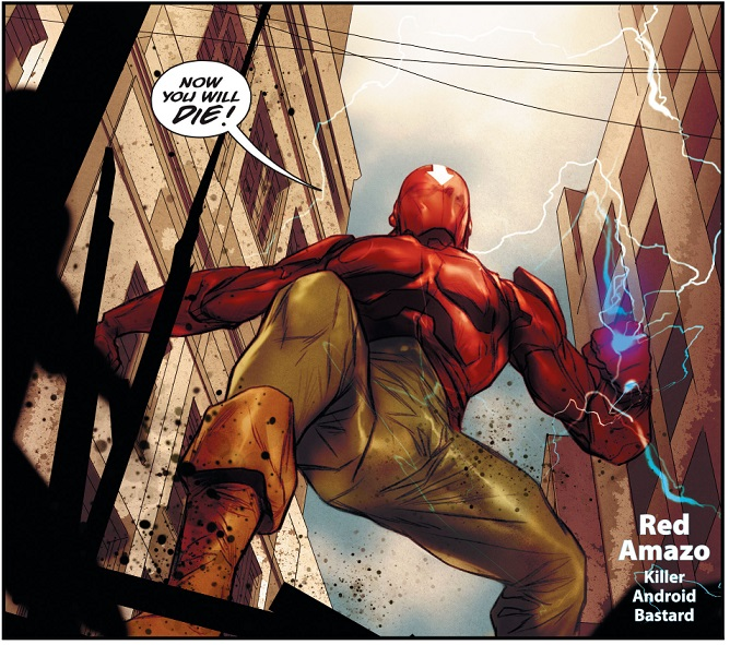 Red Amazo (Earth 16)