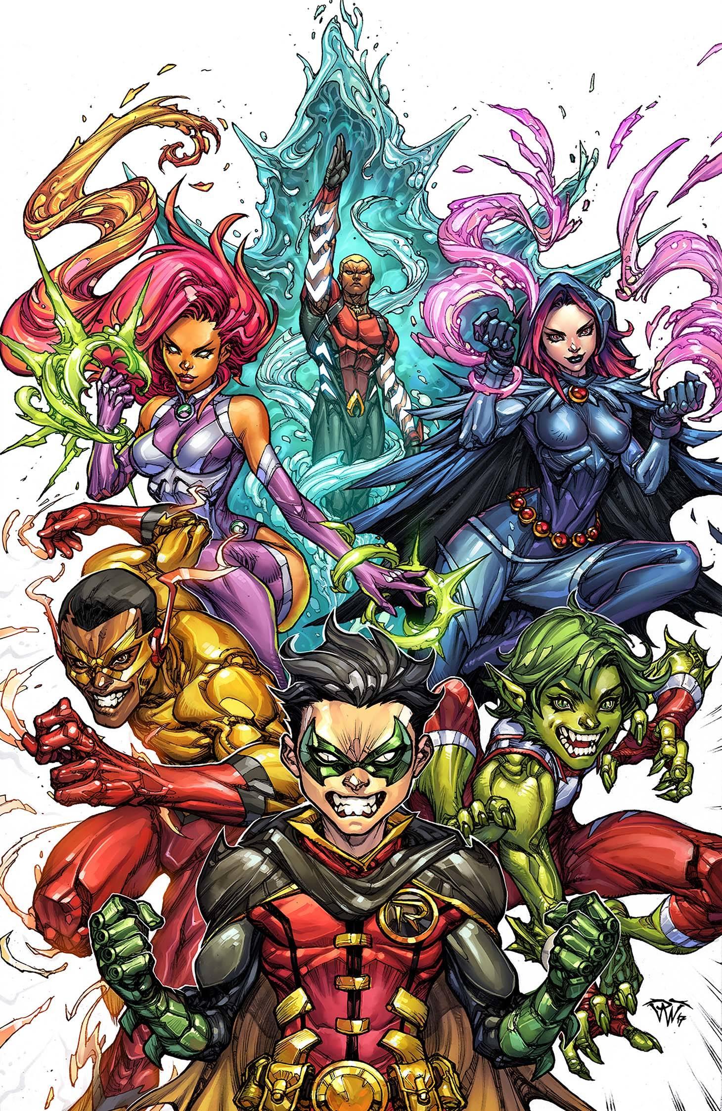 Teen Titans Vol 6 10 Textless Variant.jpg