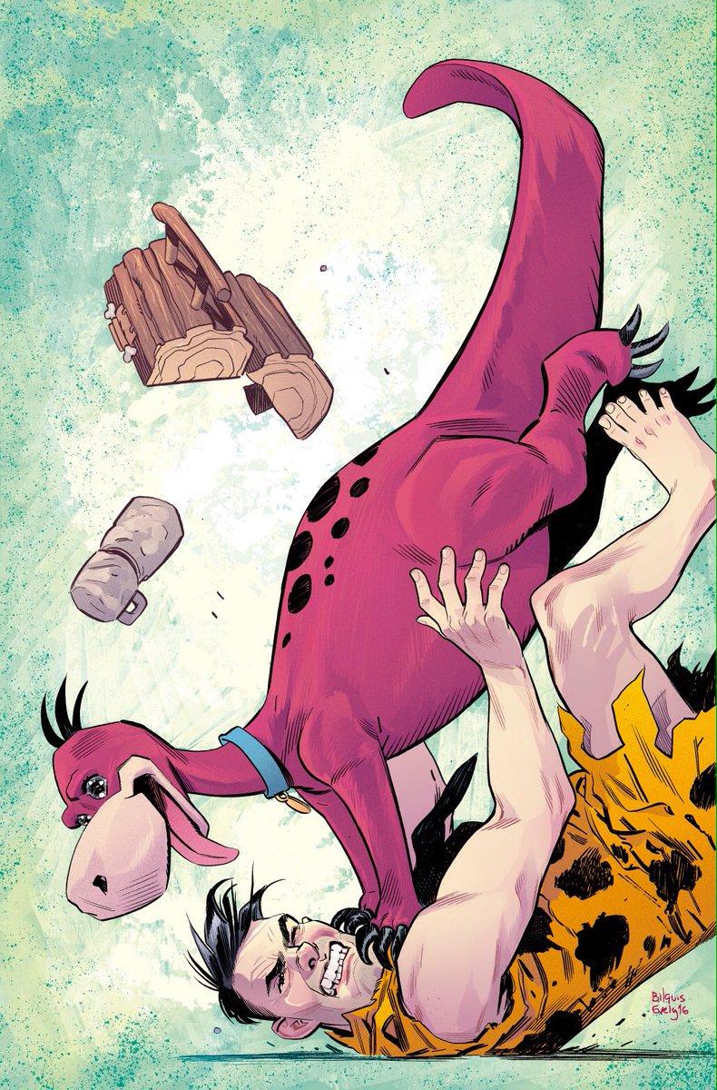 The Flintstones Vol 1 3 Textless Variant.jpg