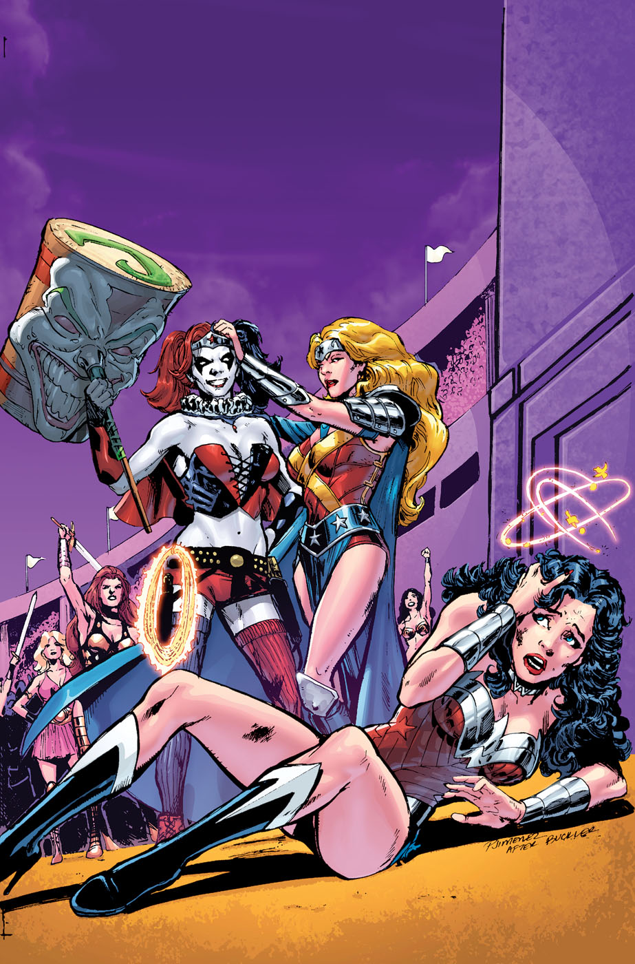 Wonder Woman Vol 4 39 Textless Harley Quinn Variant.jpg