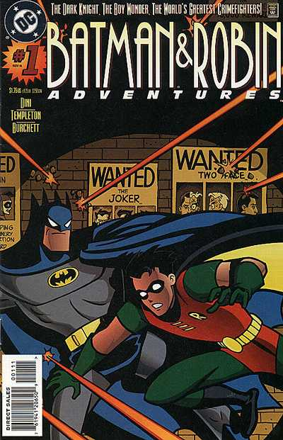 The Batman and Robin Adventures Vol 1