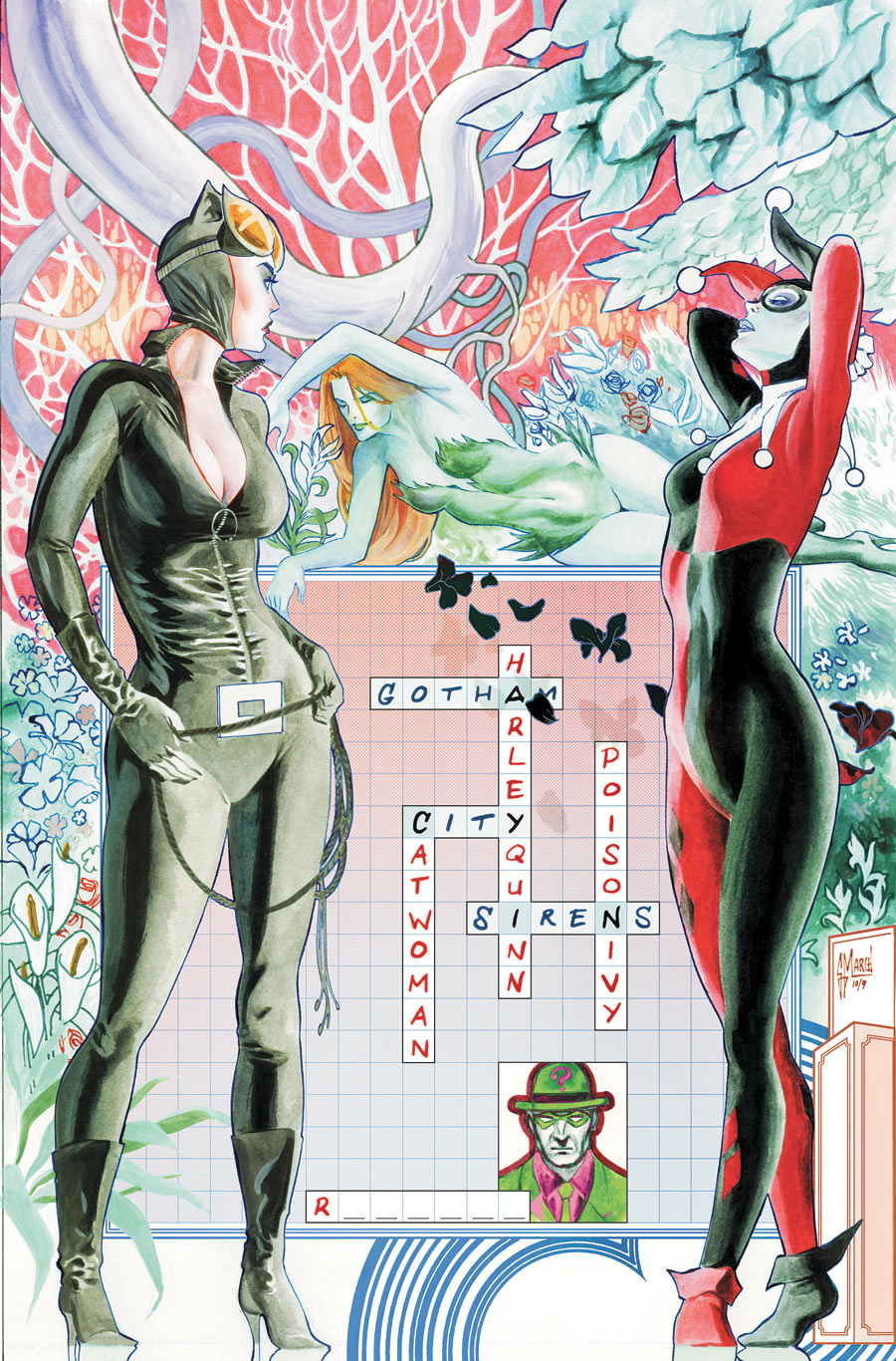 Gotham City Sirens Vol 1 10 Textless.jpg