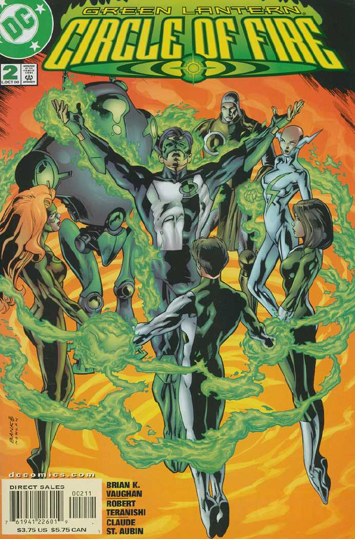 Green Lantern: Circle of Fire Vol 1 2