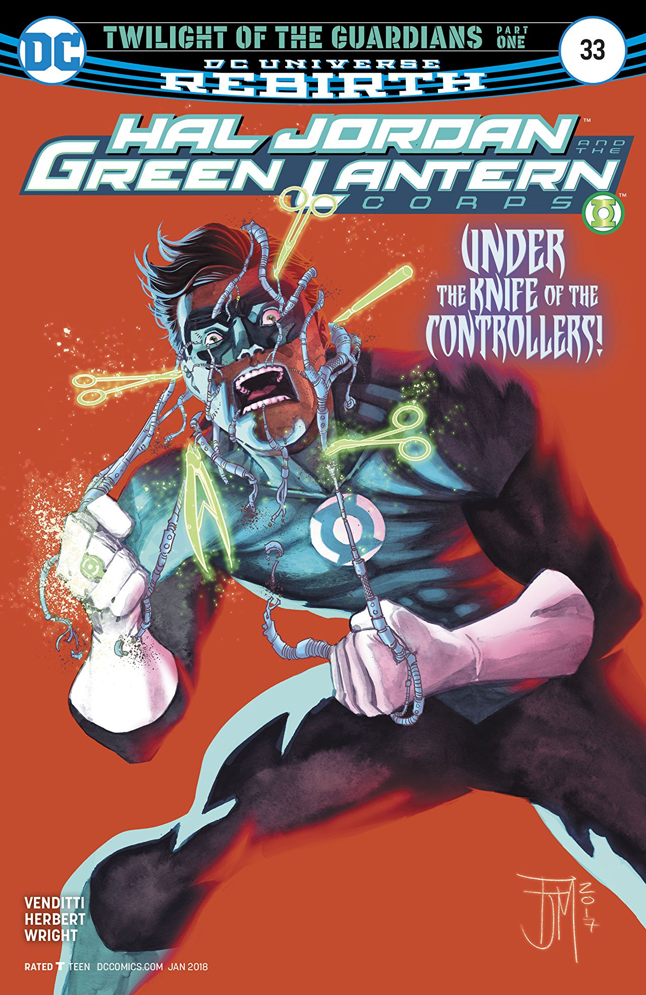 Hal Jordan and the Green Lantern Corps Vol 1 33