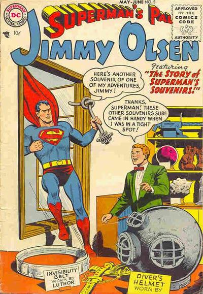 Superman's Pal, Jimmy Olsen Vol 1 5