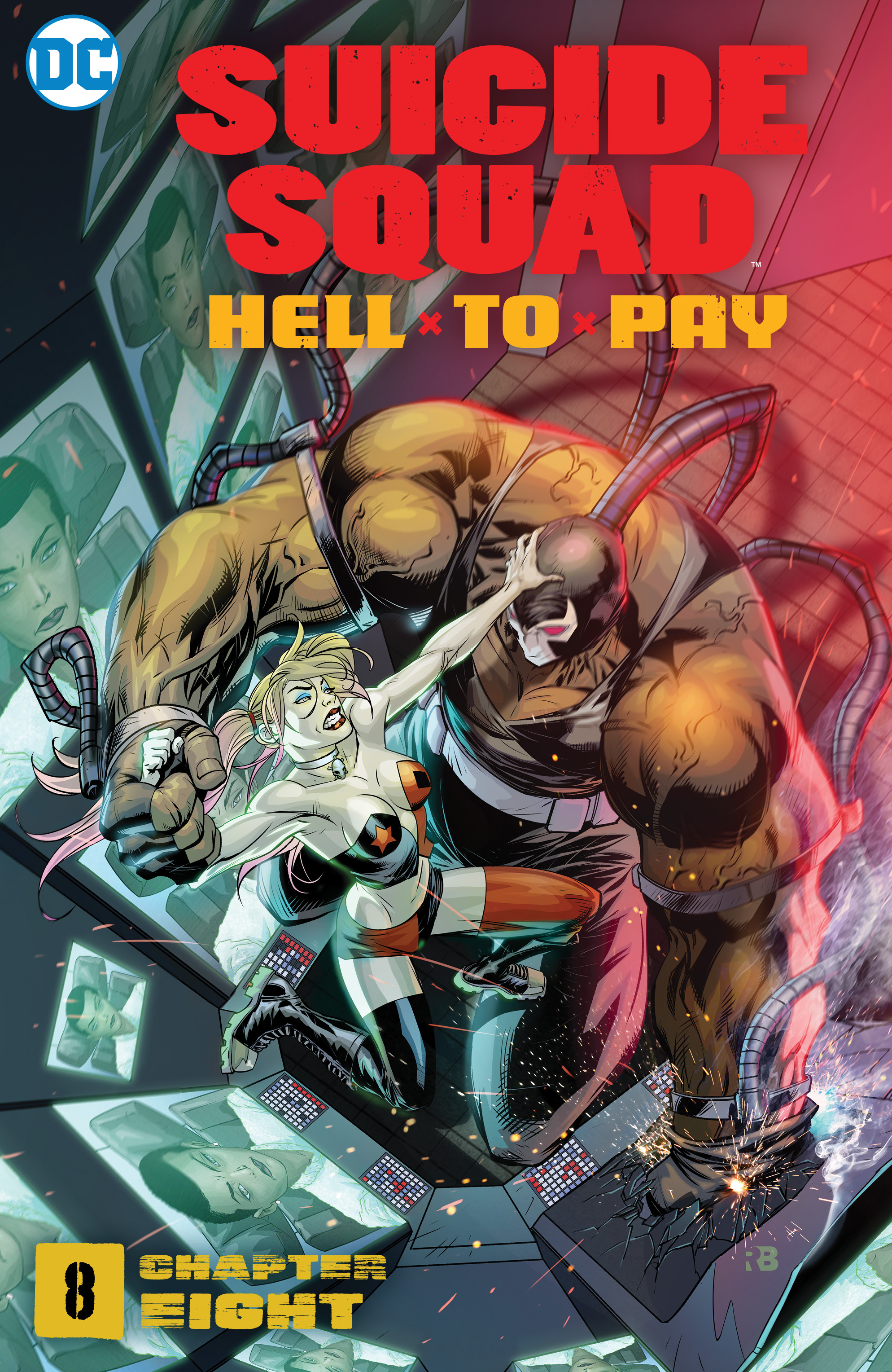 Suicide Squad: Hell to Pay Vol 1 8 (Digital)