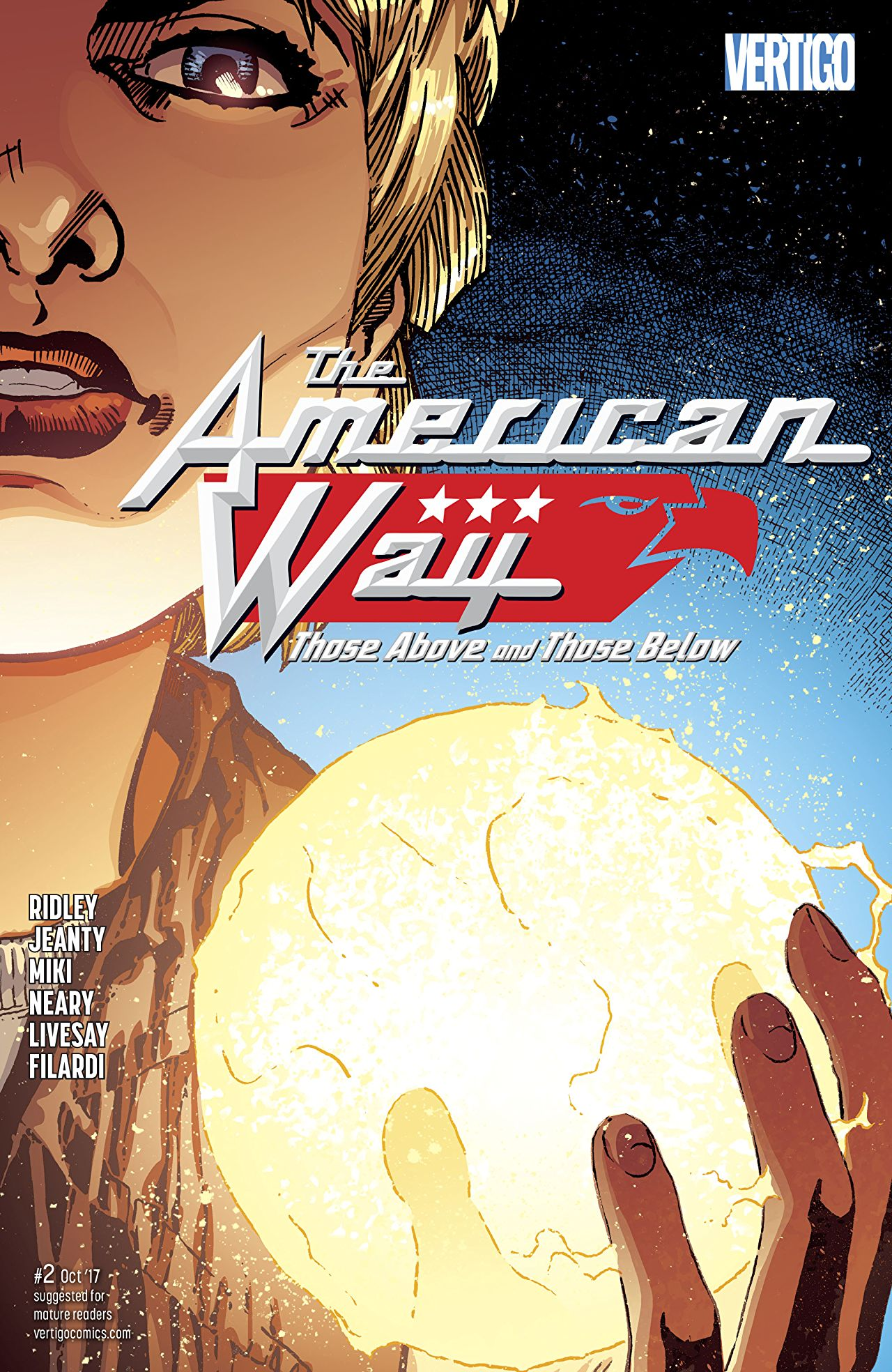 The American Way: Those Above and Those Below Vol 1 2