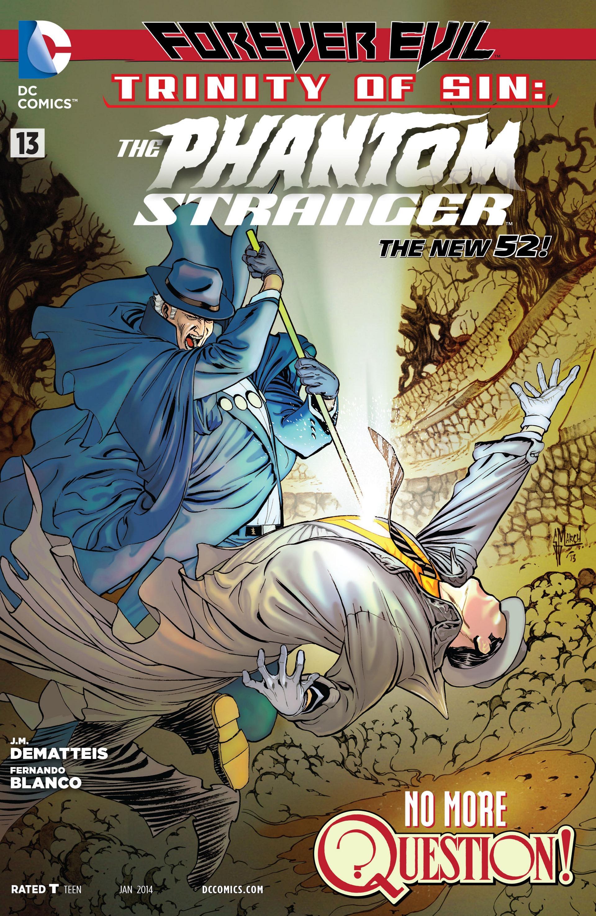 Trinity of Sin: The Phantom Stranger Vol 1 13