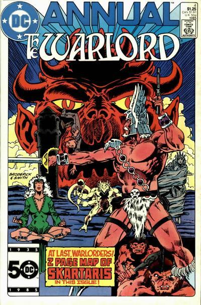 Warlord Annual Vol 1 4
