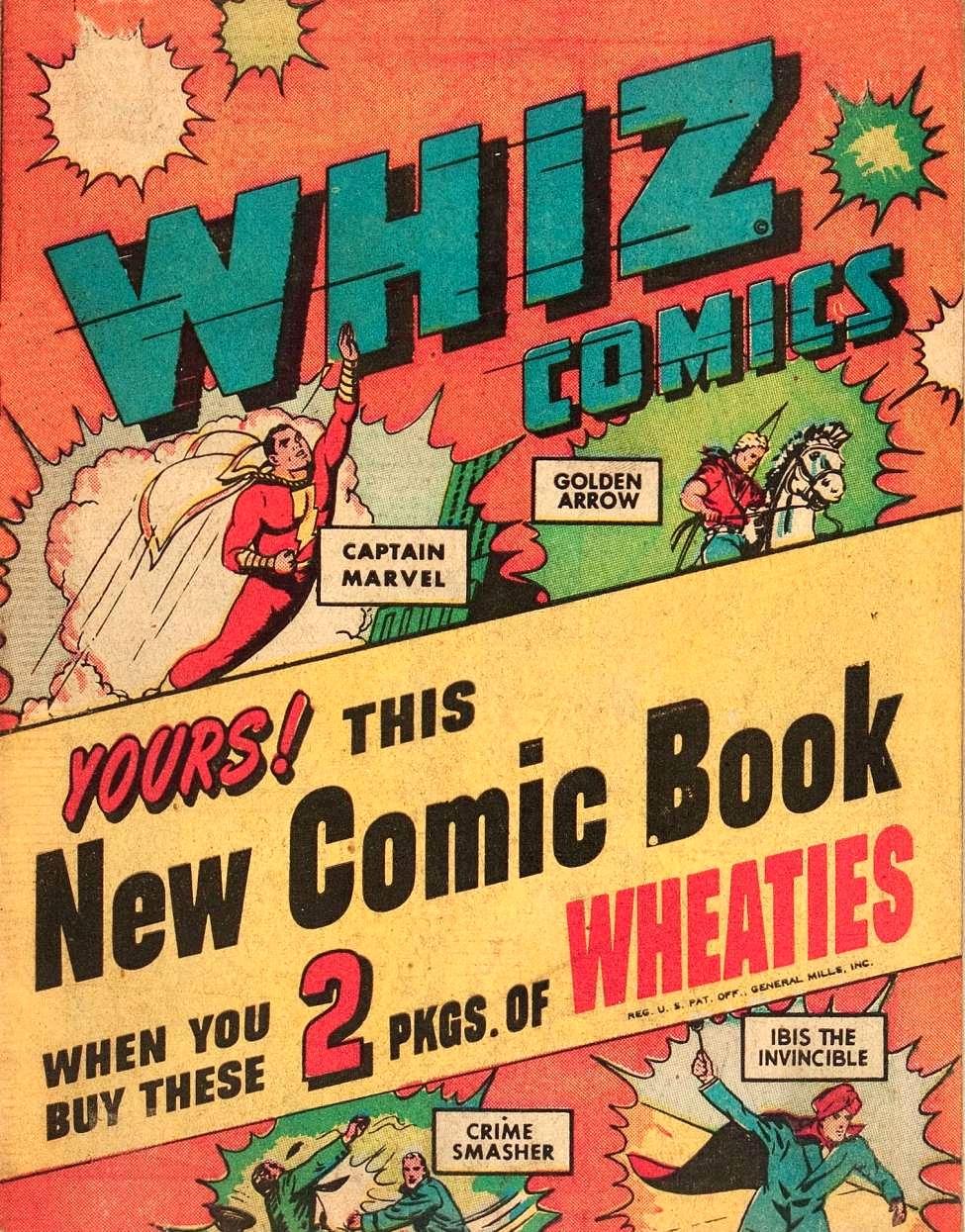 Whiz Comics: Wheaties Miniature Edition