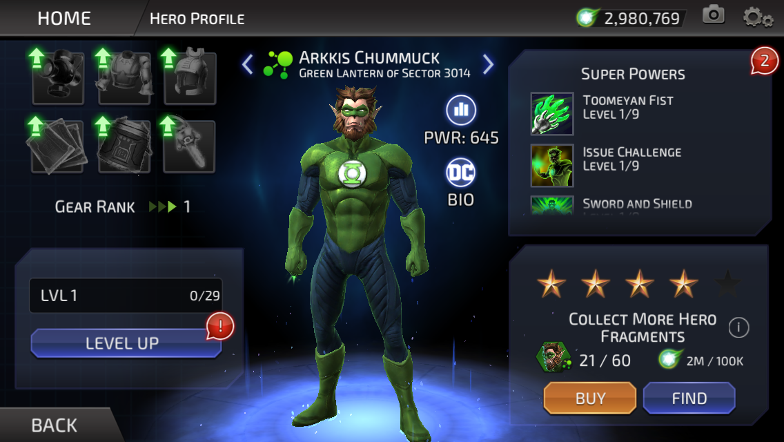 Arkkis Chummuck (DC Legends)