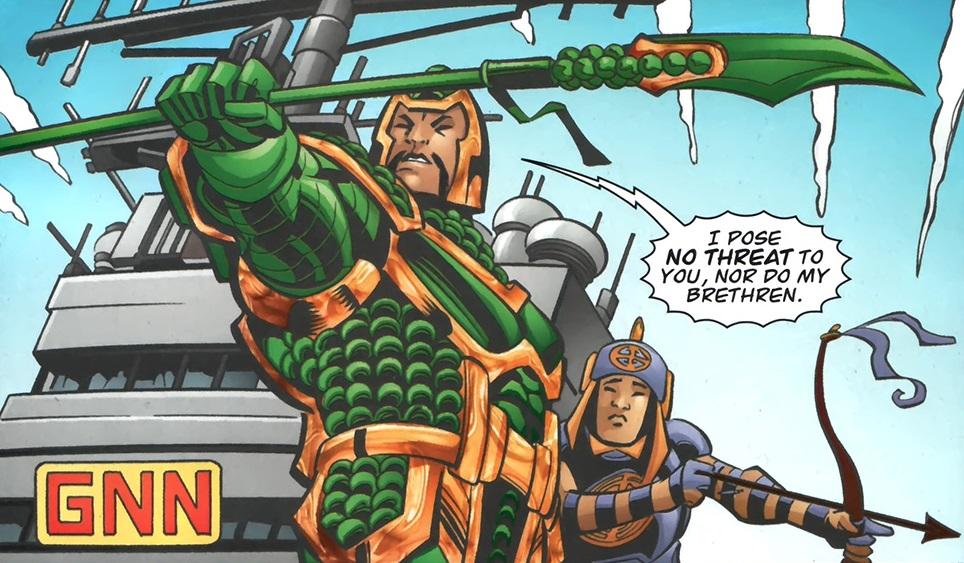 Jade Emperor Impostor (New Earth)