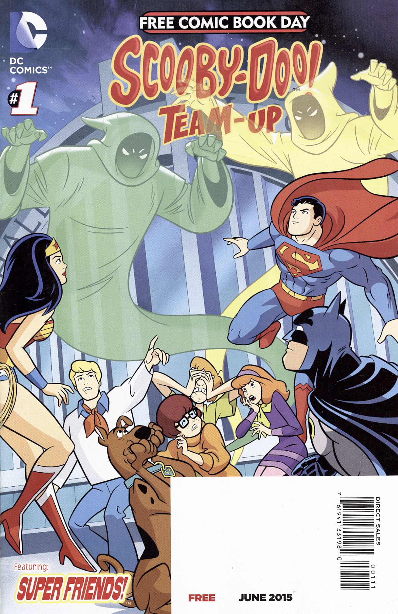 FCBD 2015 Teen Titans Go!/Scooby-Doo! Team-Up Vol 1 1