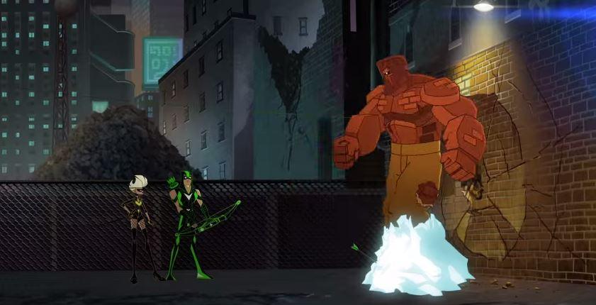 Green Arrow (Shorts) Episode: Brick