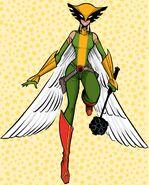 Kendra Saunders Dear Justice League 001