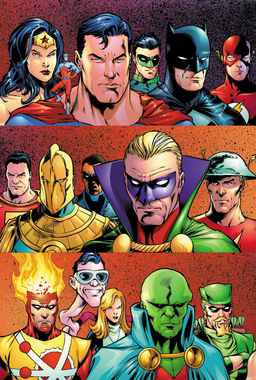 JLA/JSA: Virtue and Vice