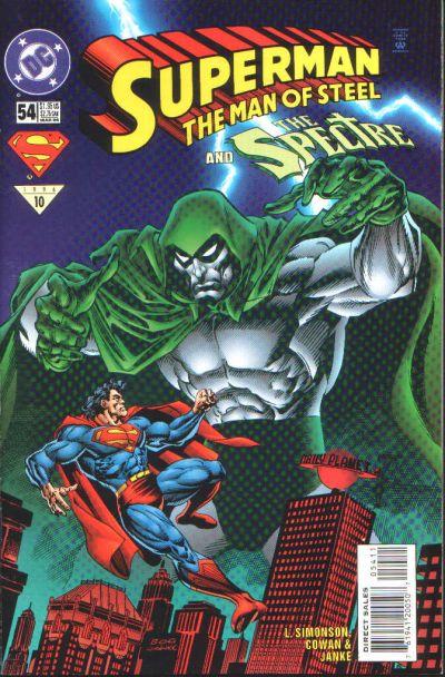 Superman: The Man of Steel Vol 1 54