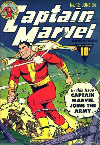Captain Marvel Adventures Vol 1 12