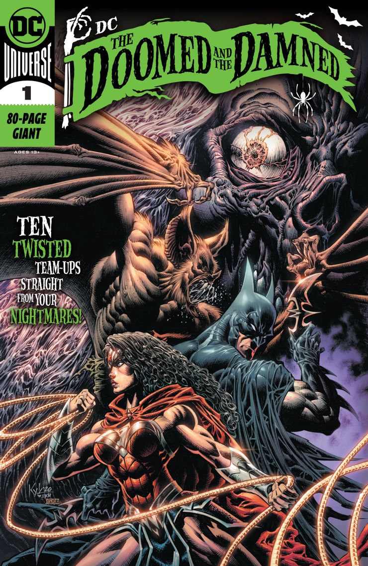 DC: The Doomed and the Damned Vol 1 1