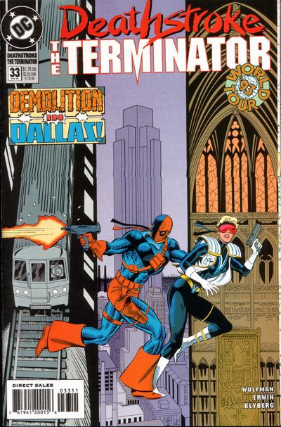 Deathstroke the Terminator Vol 1 33