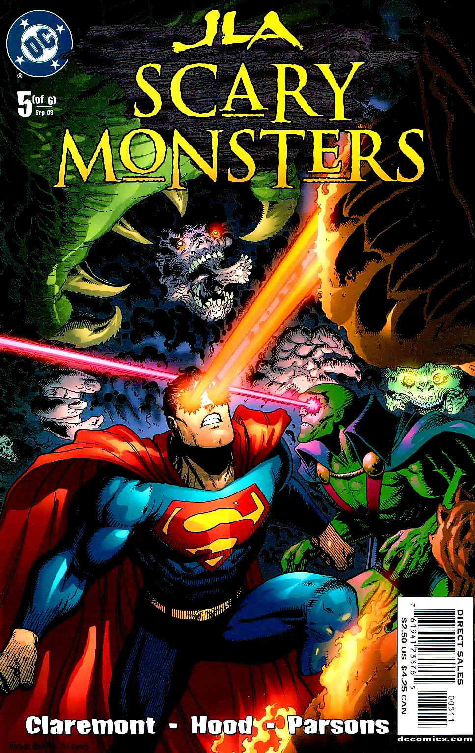 JLA: Scary Monsters Vol 1 5