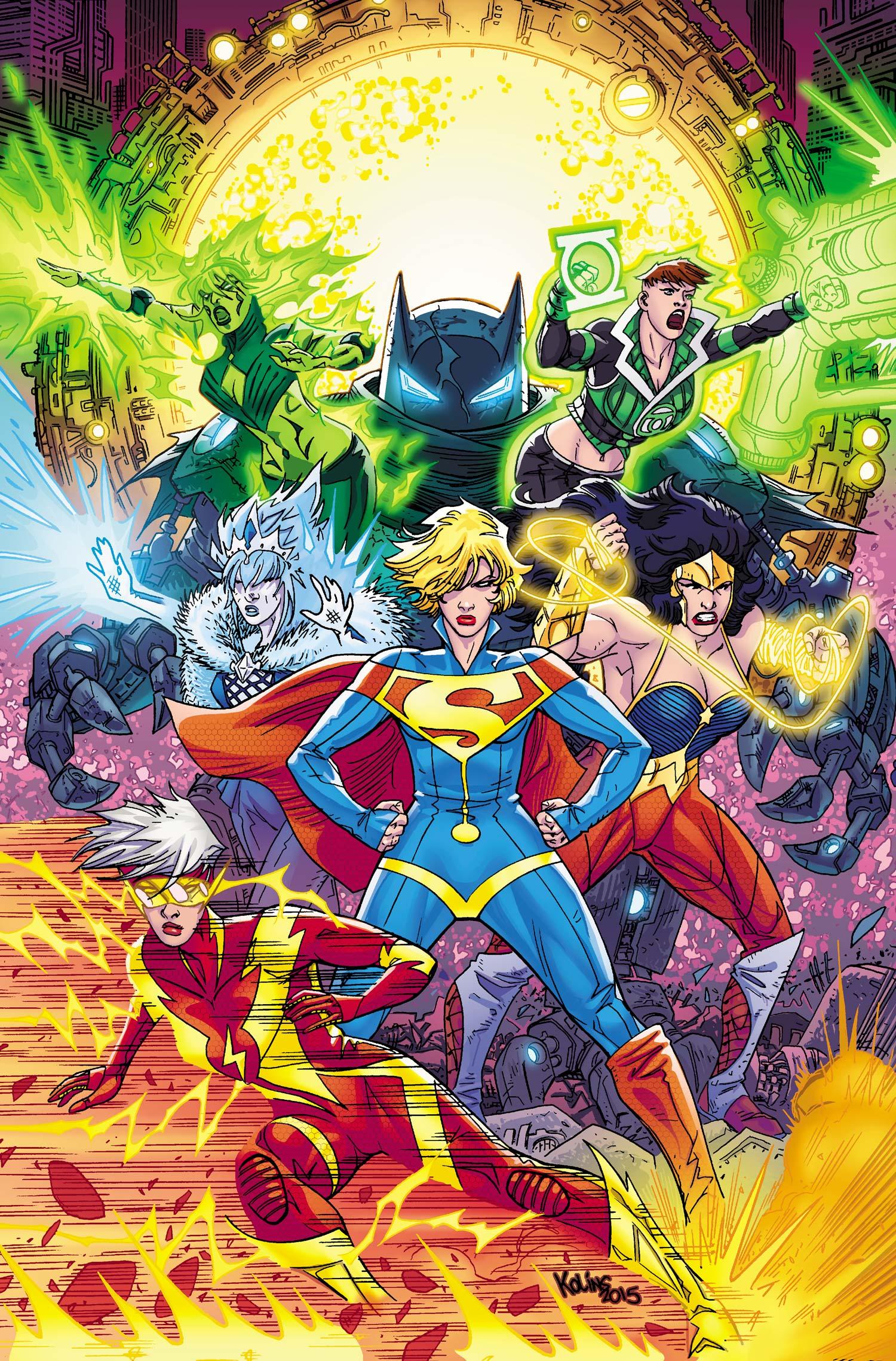 Justice League (Justice League 3000)
