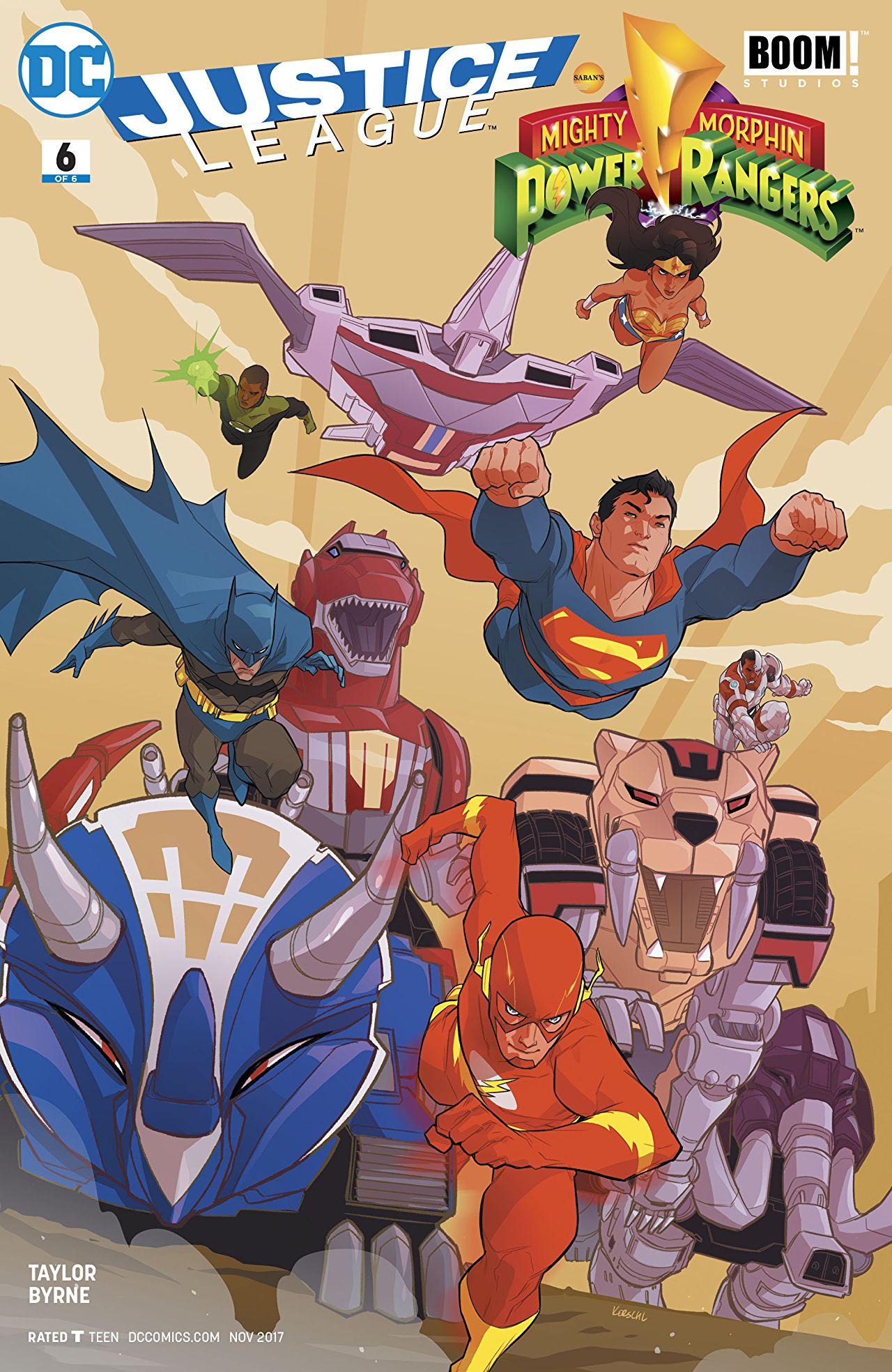 Justice League/Power Rangers Vol 1 6