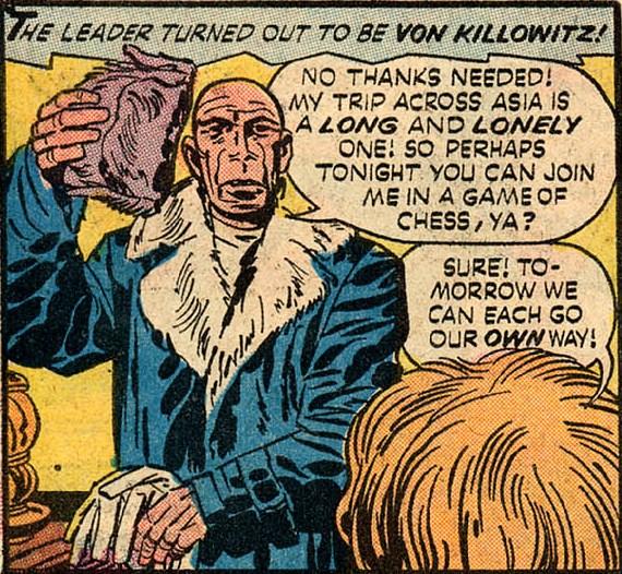 Albert von Killowitz (Earth-One)