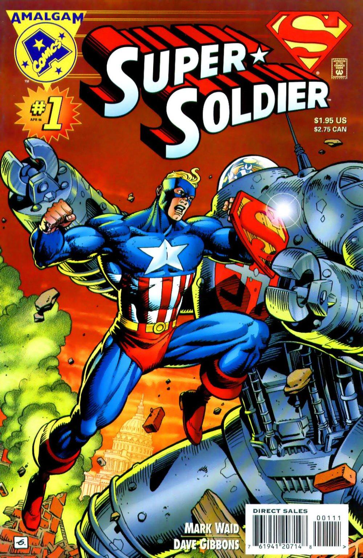 Super Soldier Vol 1 1