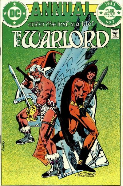 Warlord Annual Vol 1 2