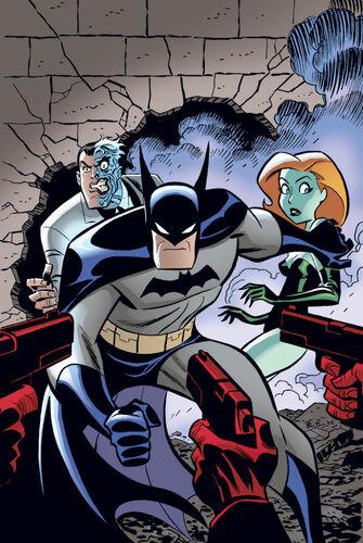 Textless Batman side