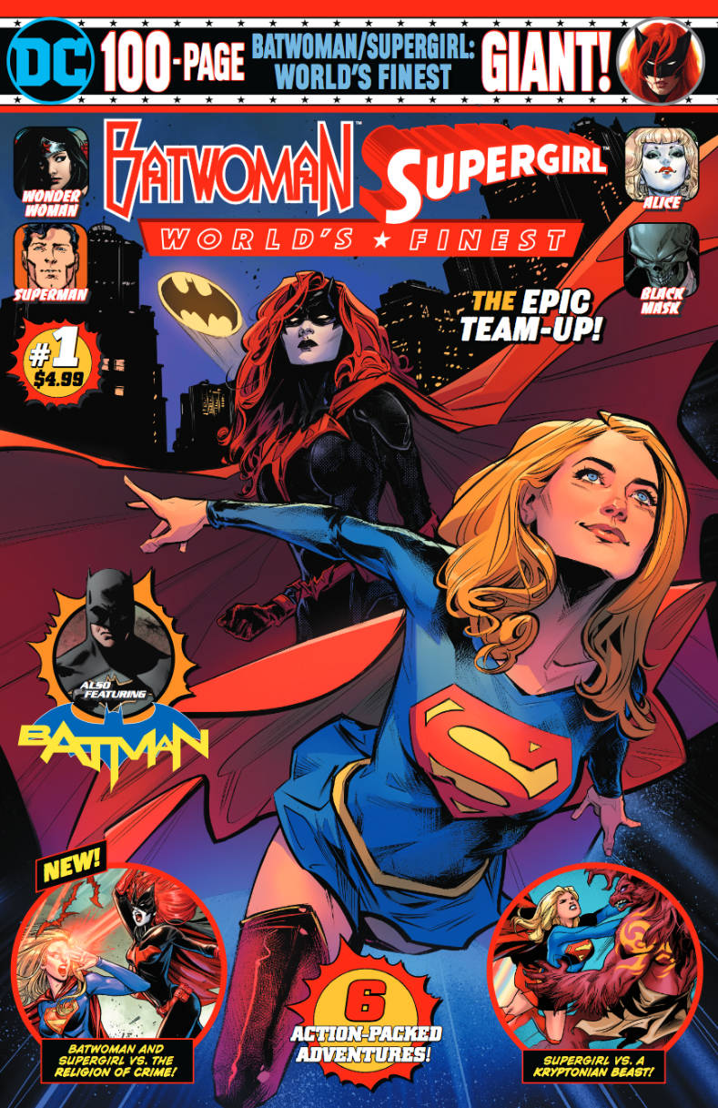 Batwoman/Supergirl: World's Finest Giant Vol 1 1