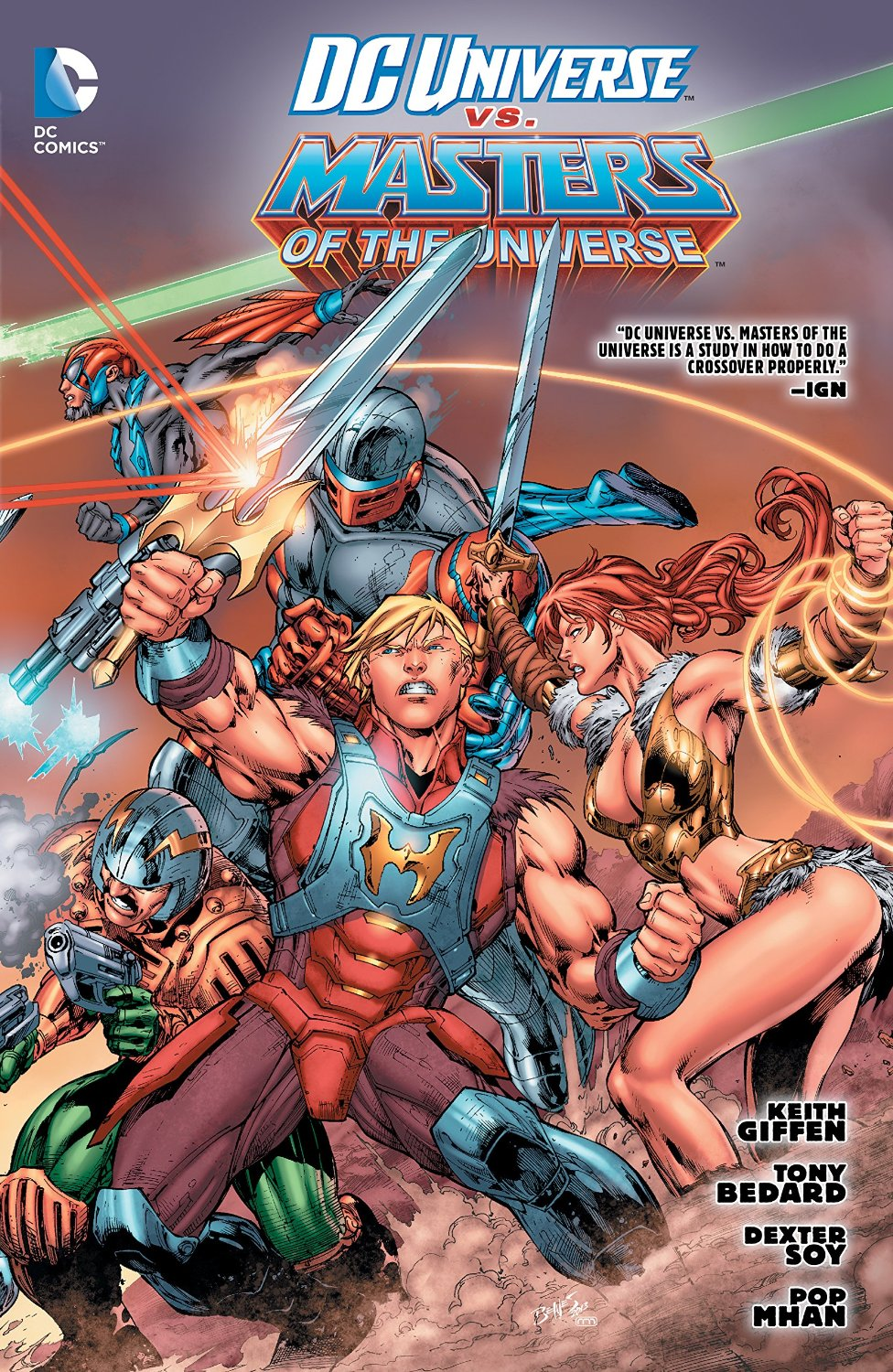 DC Universe vs. The Masters of the Universe (Collected)