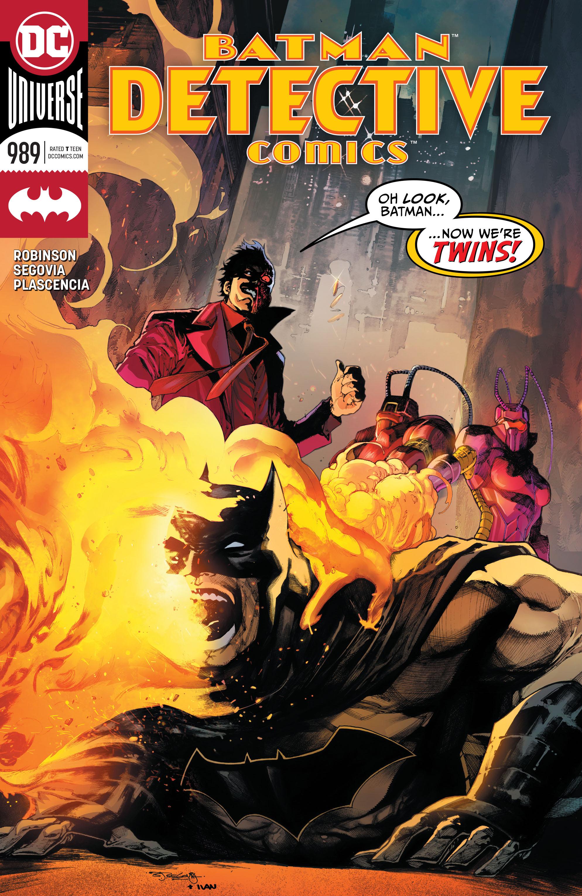 Detective Comics Vol 1 989