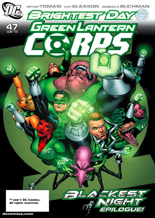 Green Lantern Corps Vol 2 47