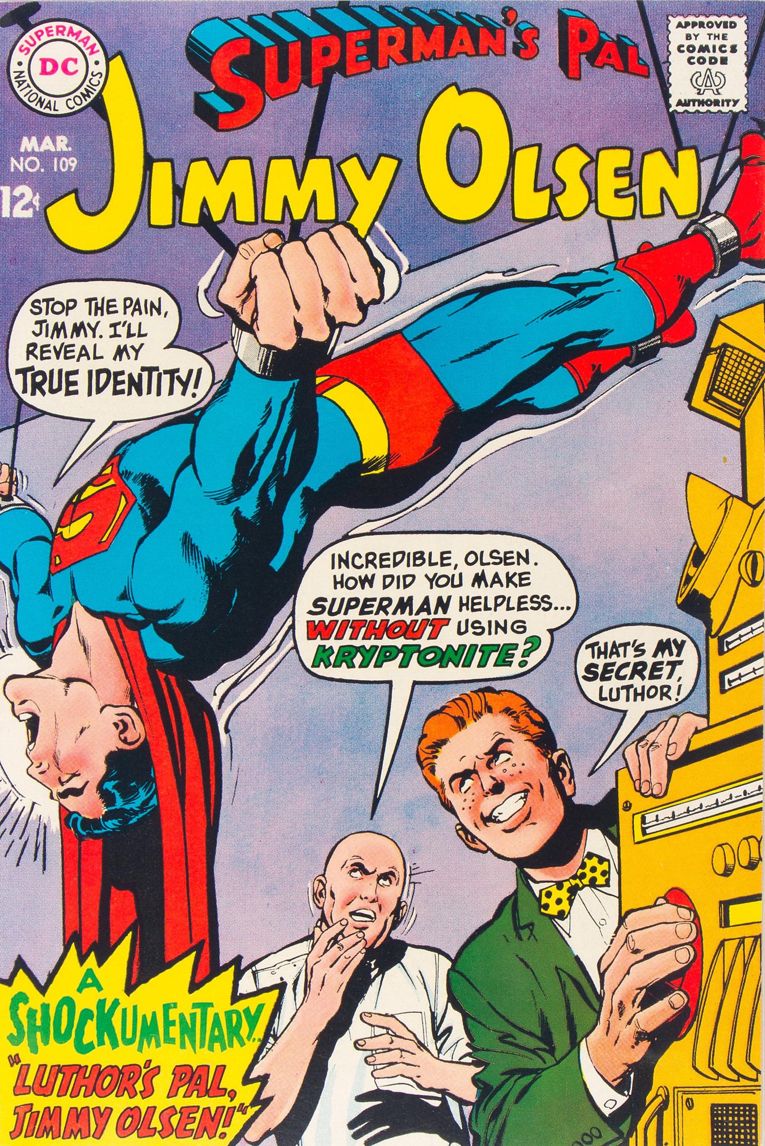 Superman's Pal, Jimmy Olsen Vol 1 109
