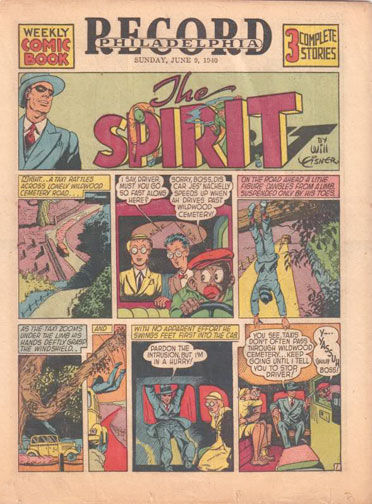 Spirit Newspaper Strip Vol 1 2