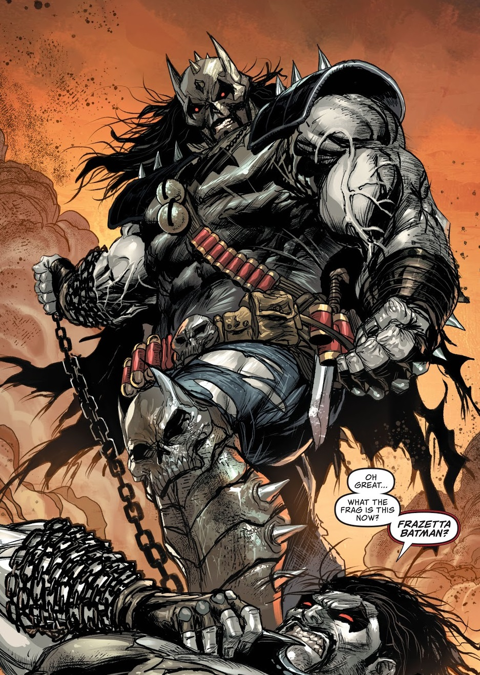Batman Who Frags (Dark Multiverse)
