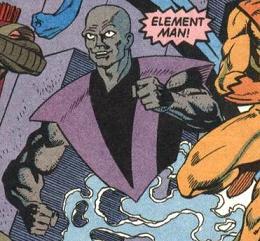 Element Man (Antimatter Universe)
