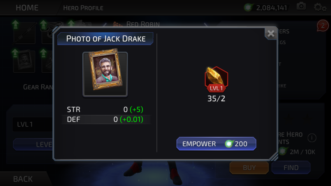 Jack Drake (DC Legends)