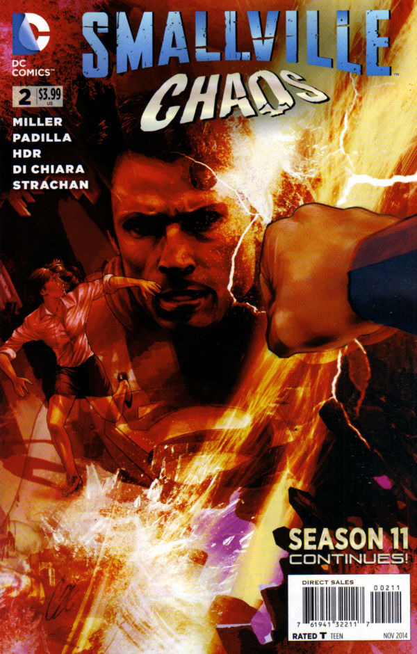 Smallville Season 11: Chaos Vol 1 2