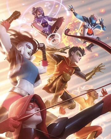 Teen Titans Vol 6 31 Textless Variant.jpg