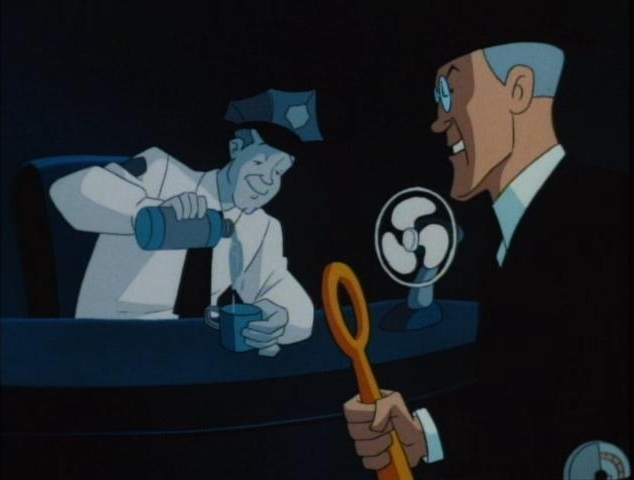 Batman (1992 TV Series) Episode: Time Out of Joint