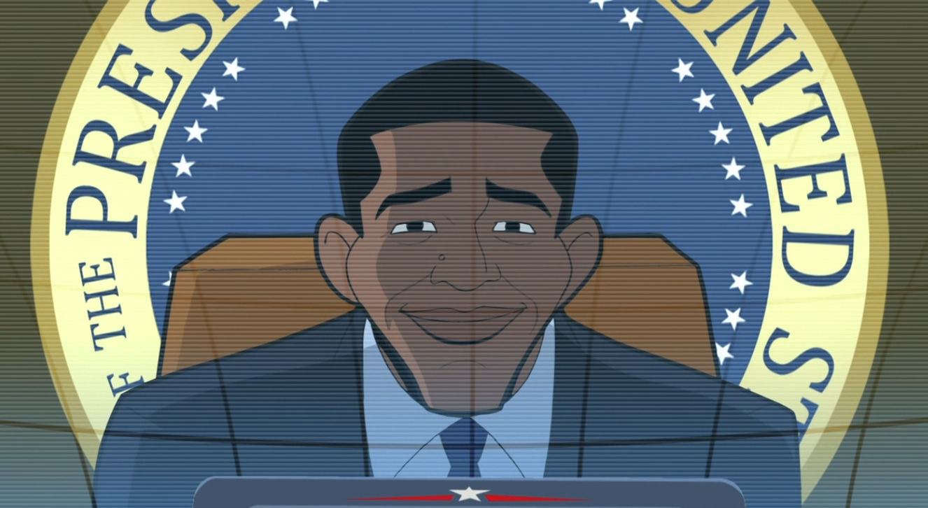 Barack Obama (The Brave and the Bold)